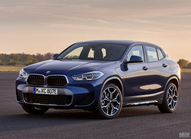 BMW X2 получил гибридную версию