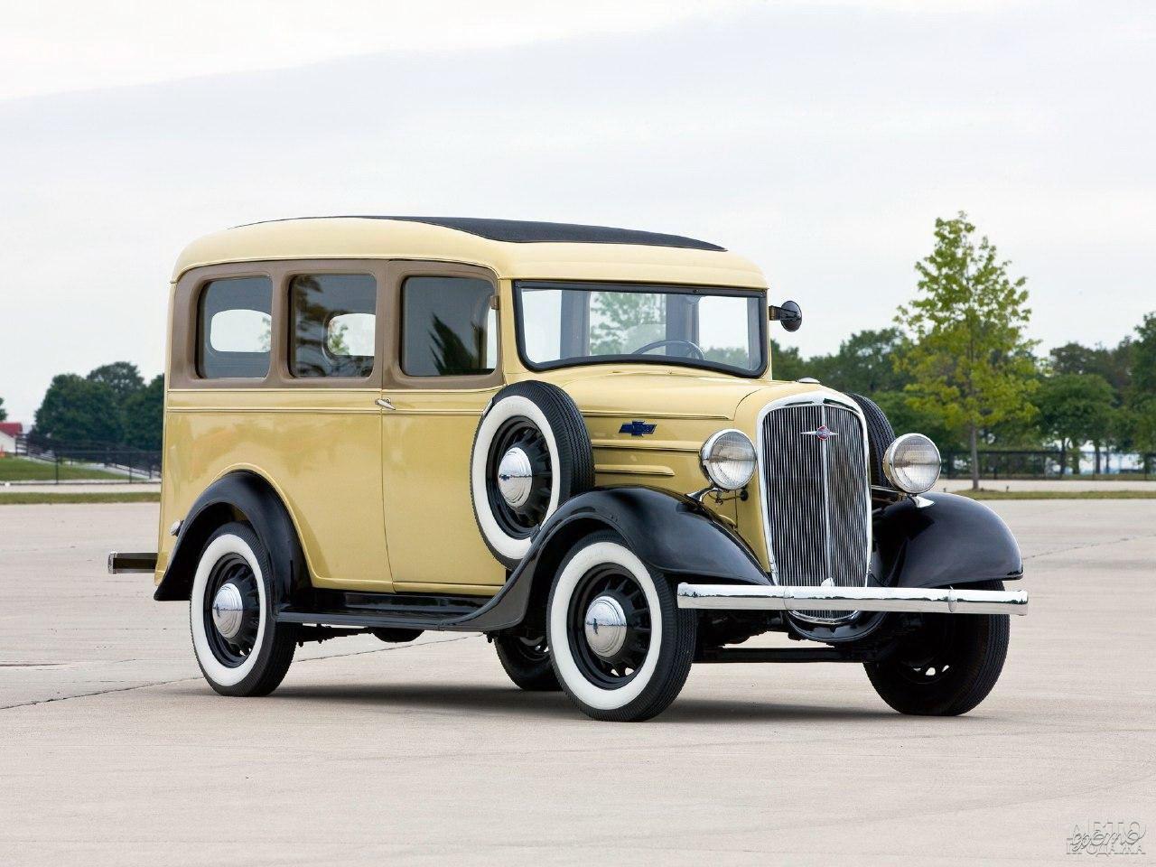 Первый Chevrolet Carryall Suburban, 1935 год