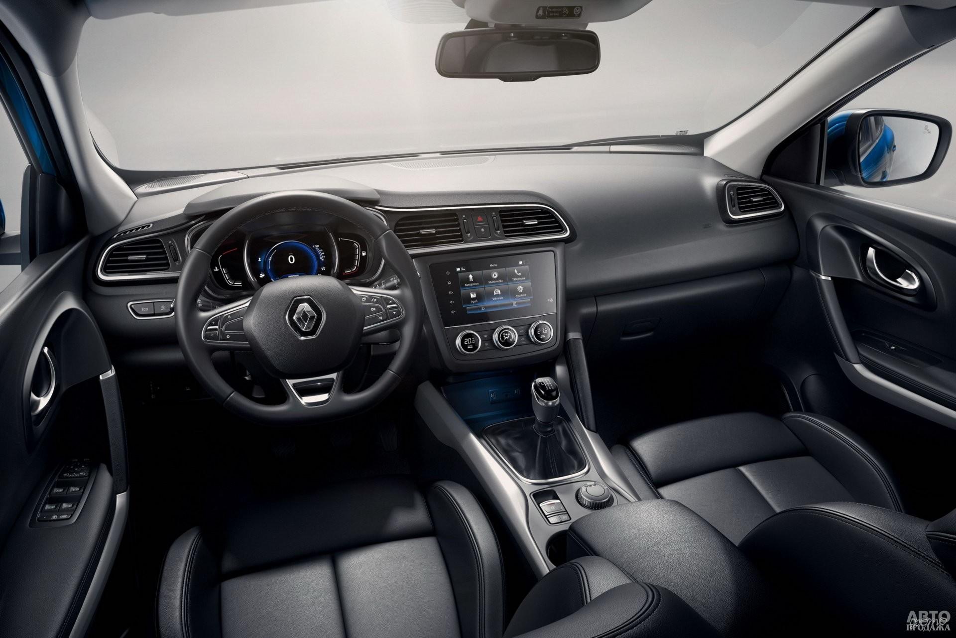 Renault получил цифровую панель приборов
