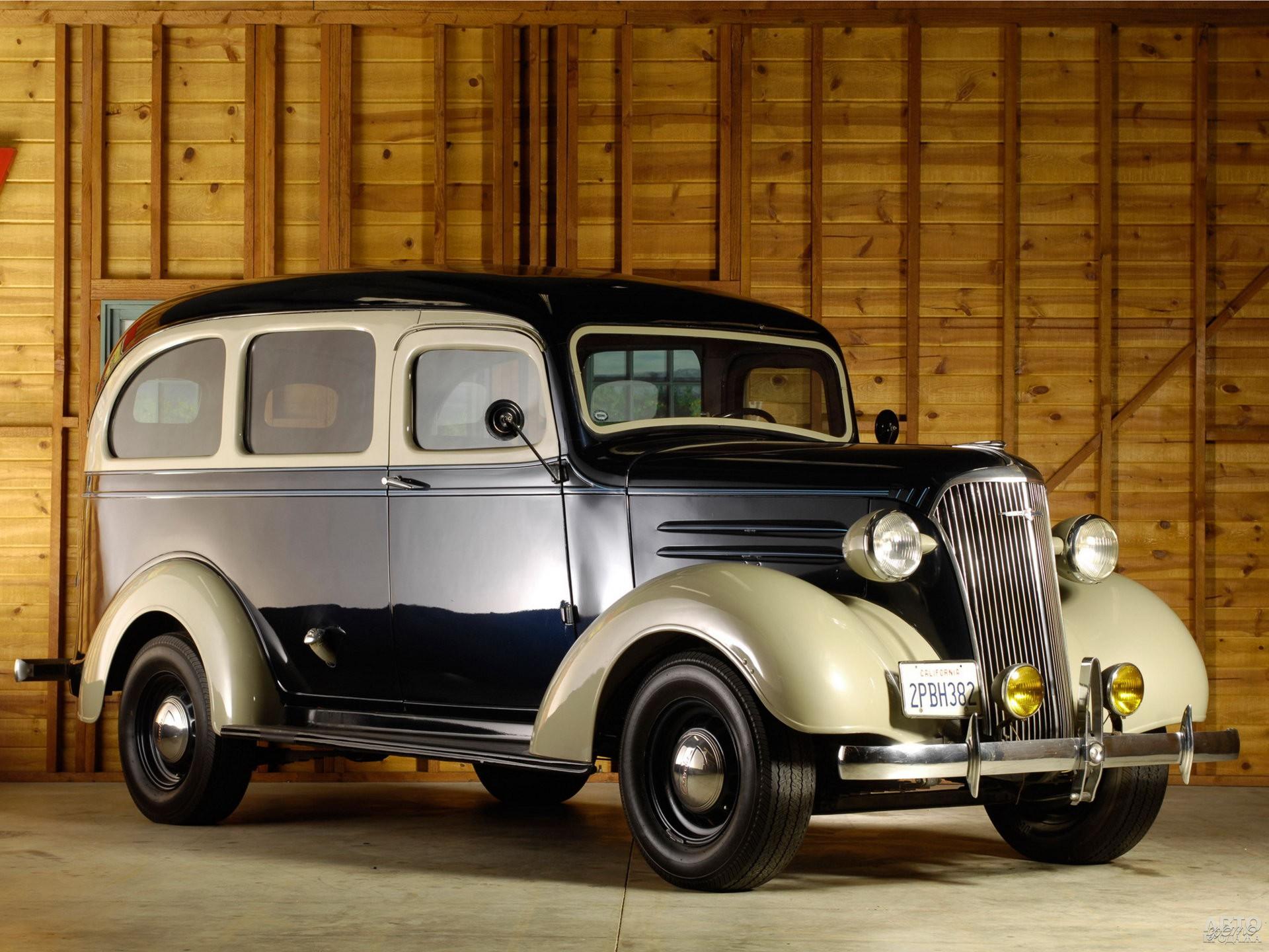 Chevrolet Carryall Suburban 1937 года