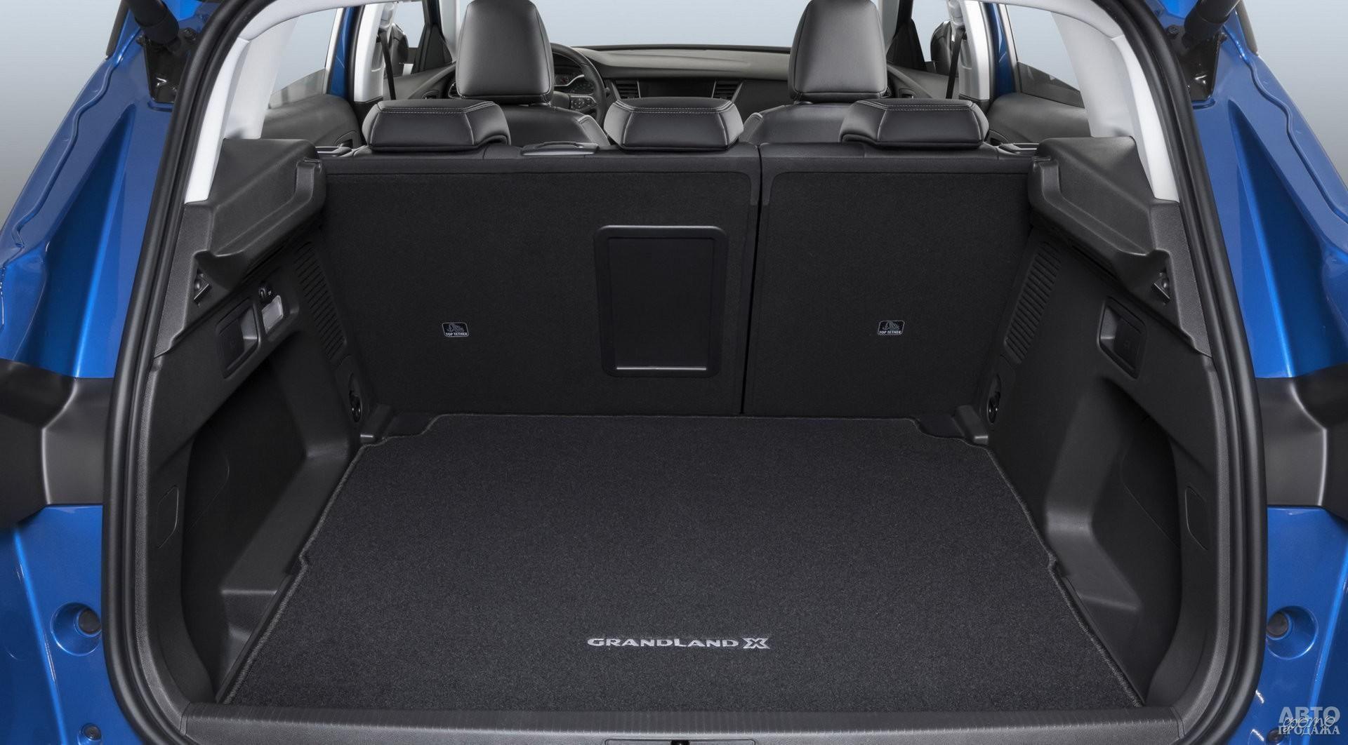 Багажник Opel самый большой – 514 л