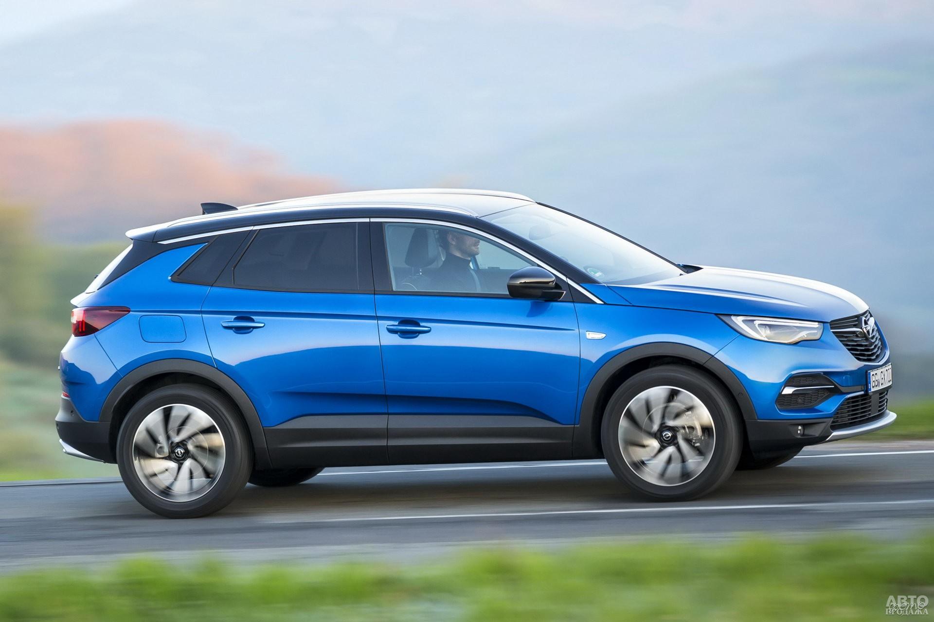 Opel ощутимо легче соперников – 1392 кг