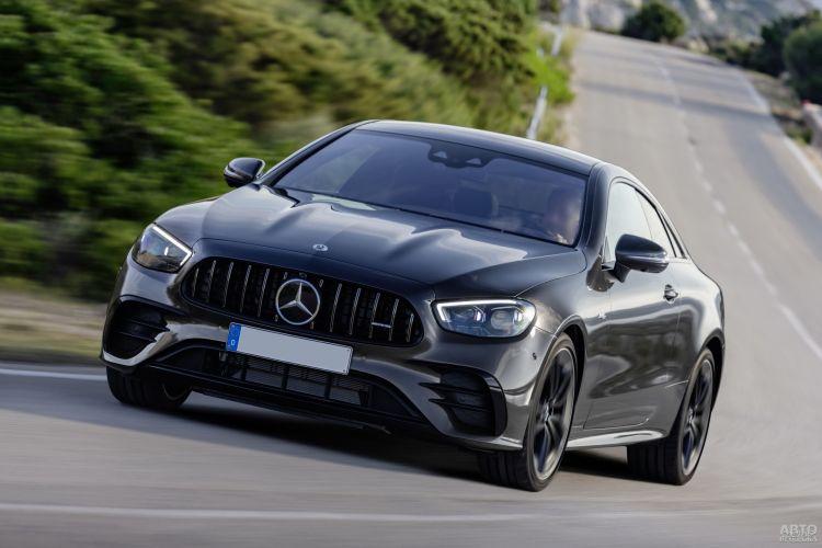 Mercedes-Benz E-Class Coupe: модернизация