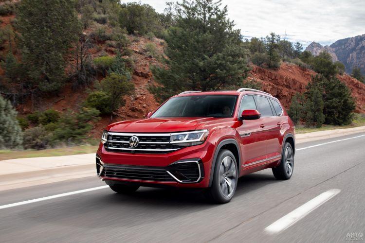 Volkswagen Atlas: семейный гигант