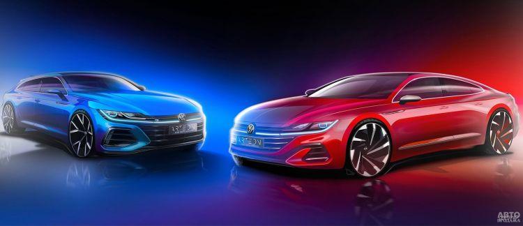 Volkswagen Arteon вскоре обновят