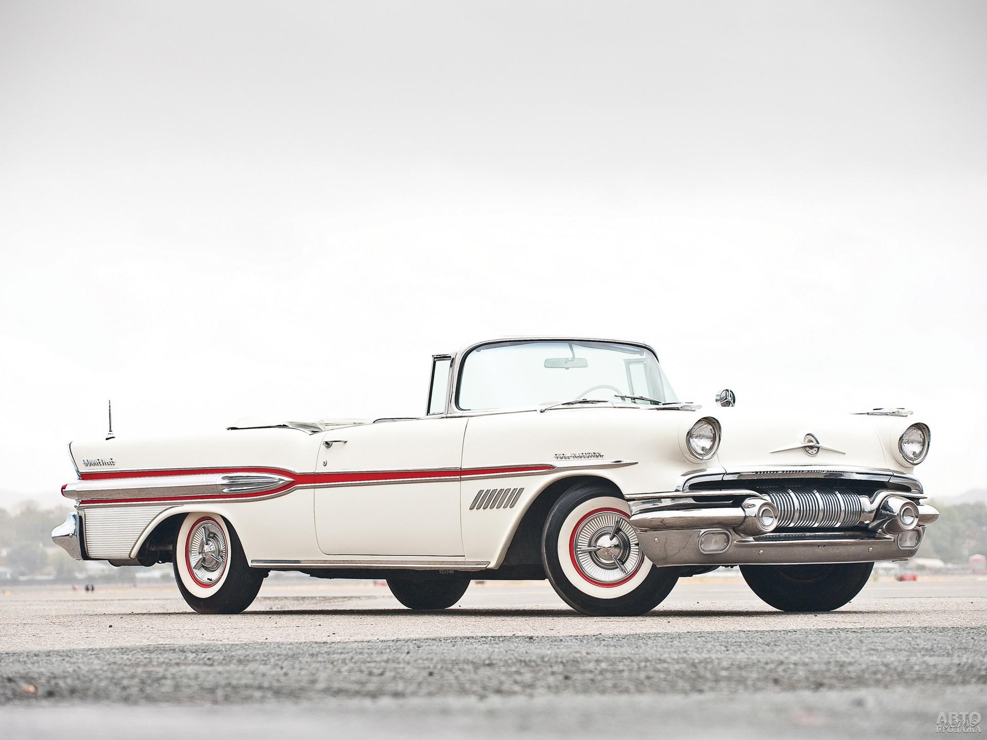 Pontiac Bonneville 1957 года – первая самостоятельная работа Джона Делореана