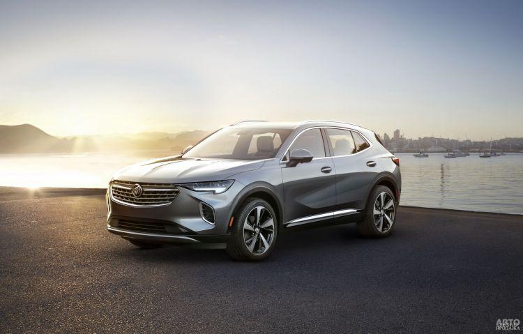 Первые фото нового Buick Envision