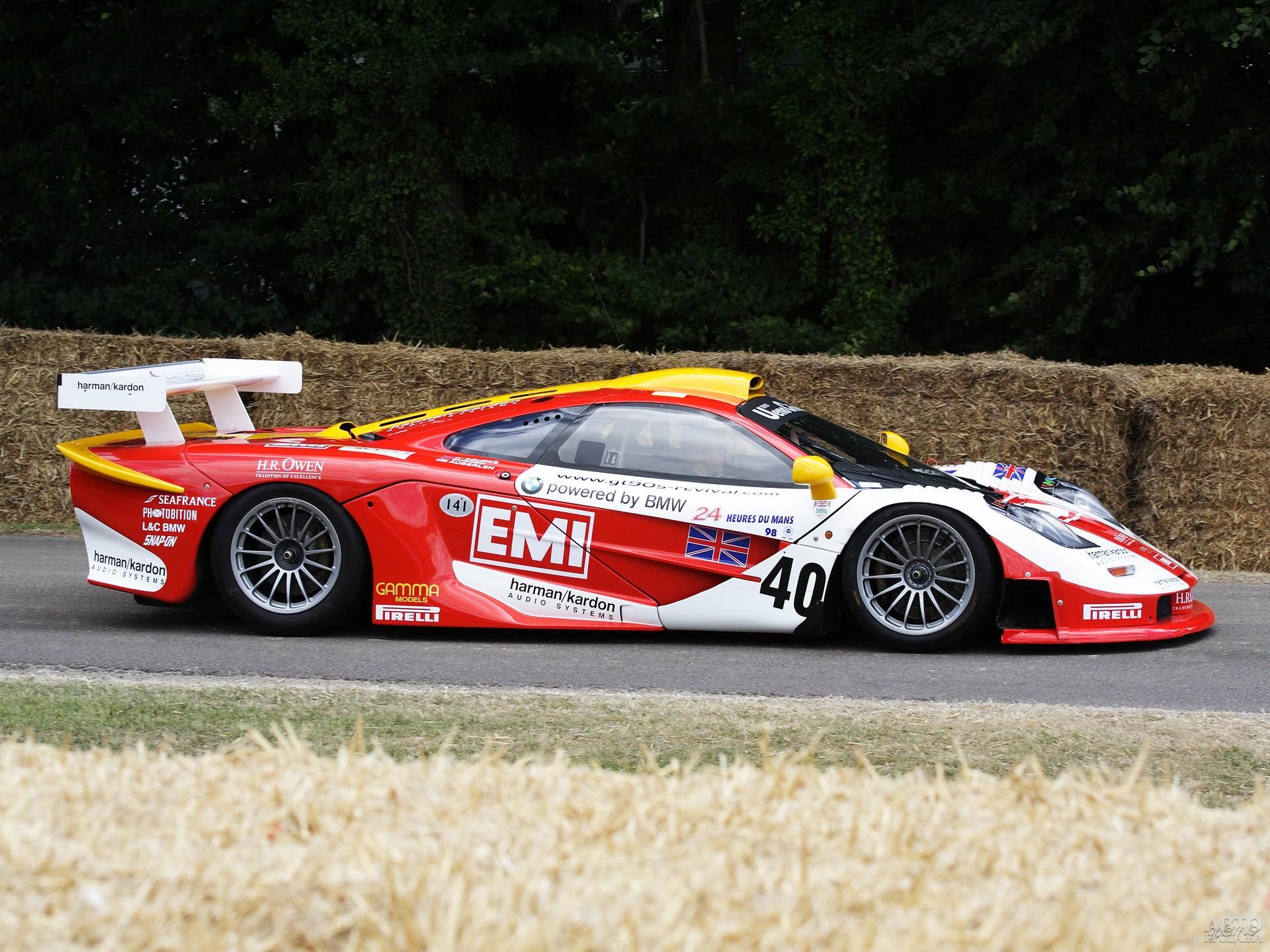 МcLaren F1 GTR Longtail 1997 года