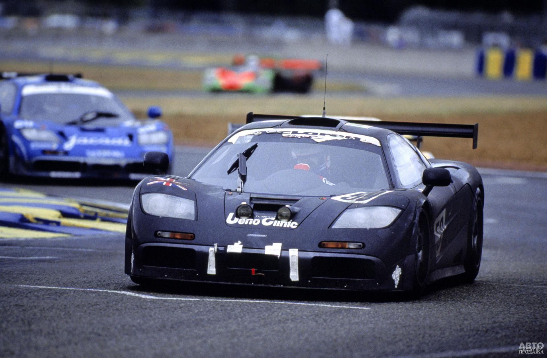 В 1995 году МcLaren F1 GTR выиграл 24-часовую гонку в Ле-Мане