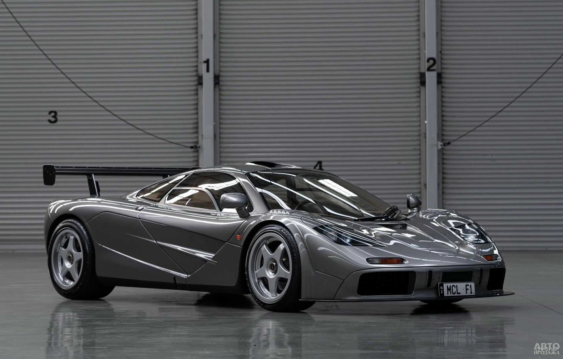 МcLaren F1 HDF 1998 года продали с аукциона за 19,8 млн. долларов