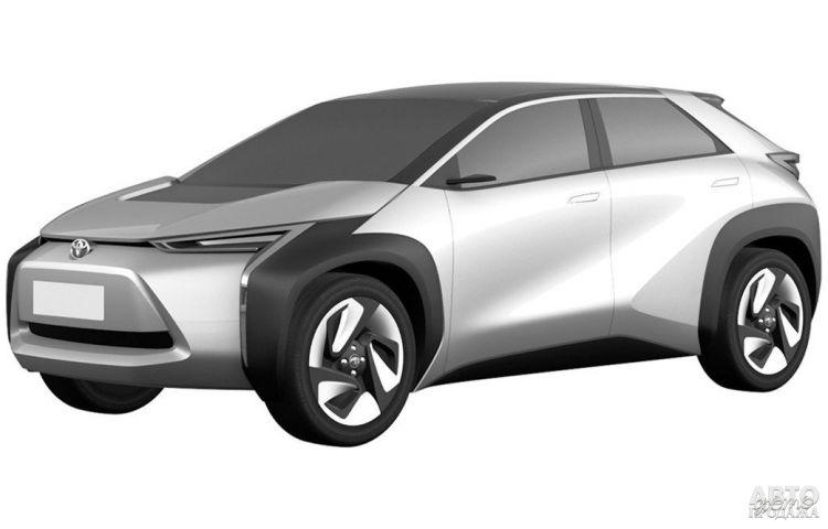 Toyota готовит два новых электрических вседорожника