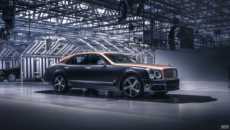 Флагман Bentley сняли с производства