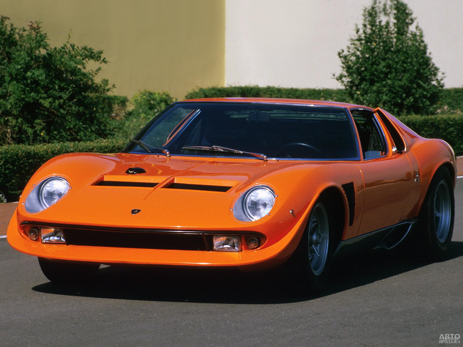 Гоночный Lamborghini Miura Jota разгонялся до 330 км/ч