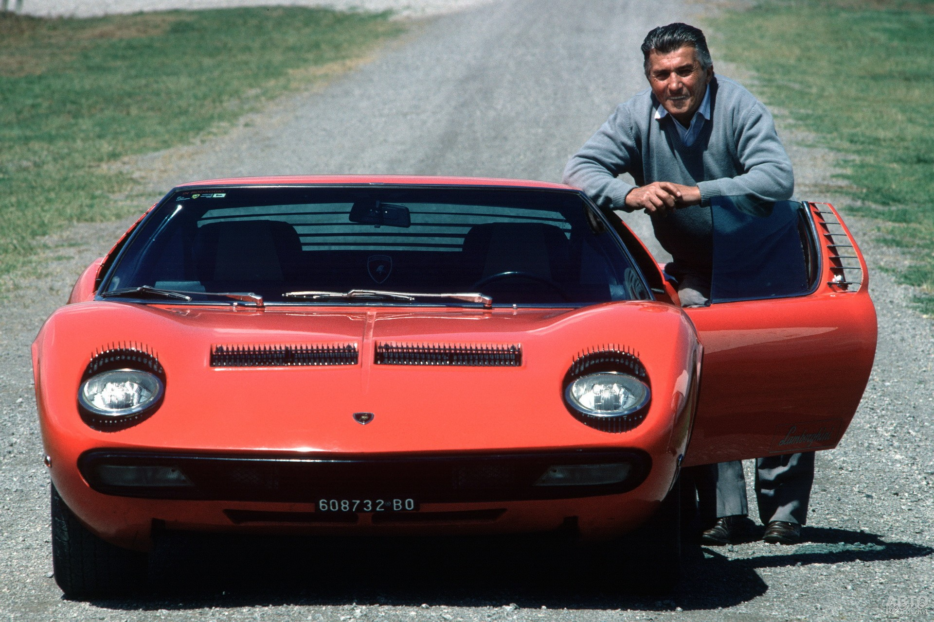 Феруччо Ламборгини и Lamborghini Miurа