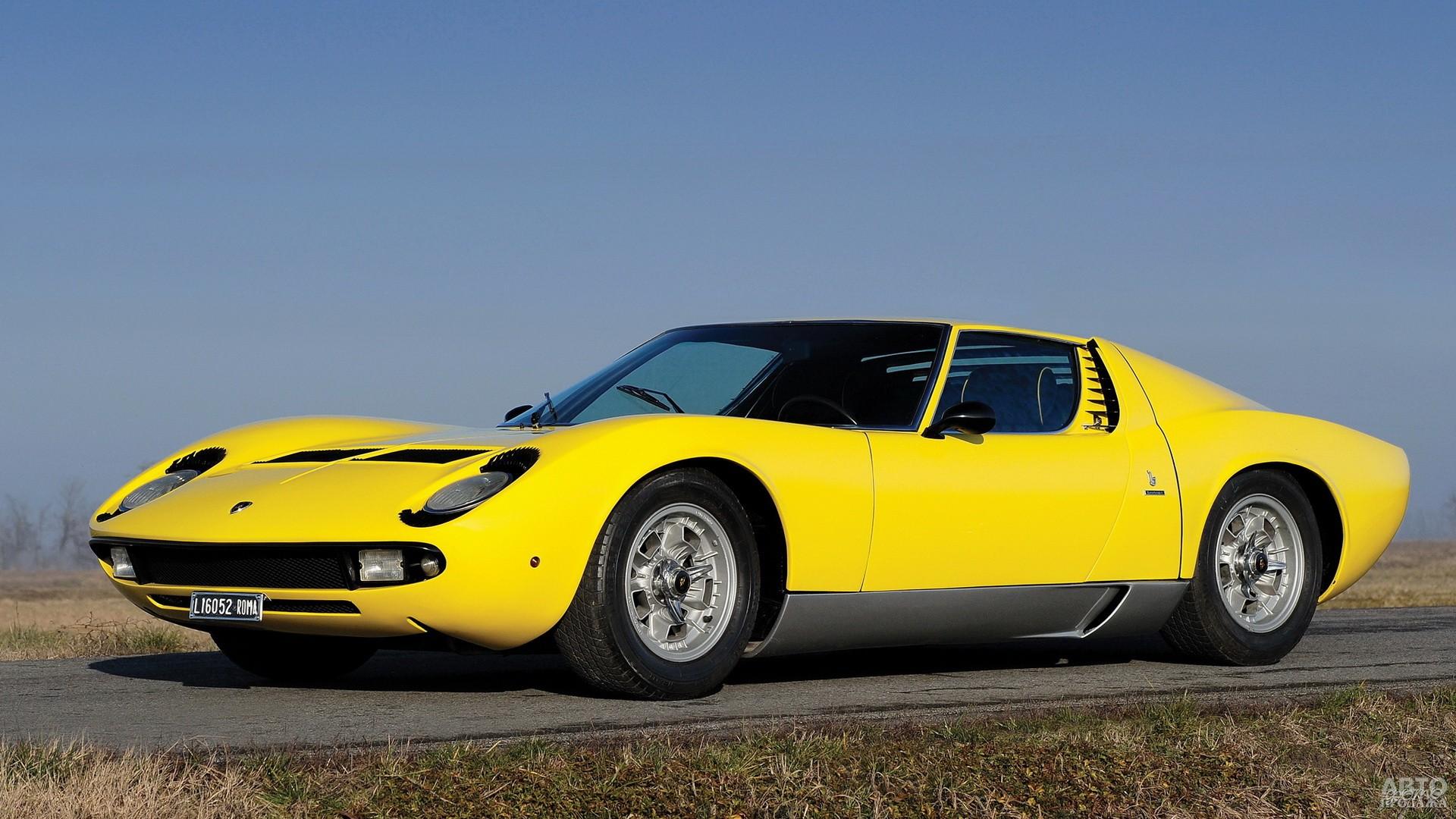 Lamborghini Miurа разработал молодой дизайнер Bertone Марчелло Гандини