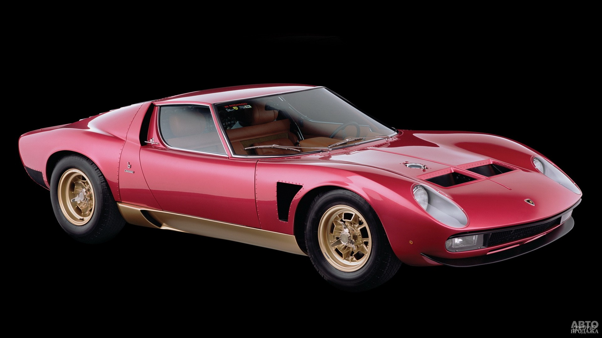 Lamborghini Miura SV/J, 1972 год