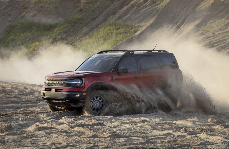 Ford Bronco Sport: возмужавший собрат Kuga
