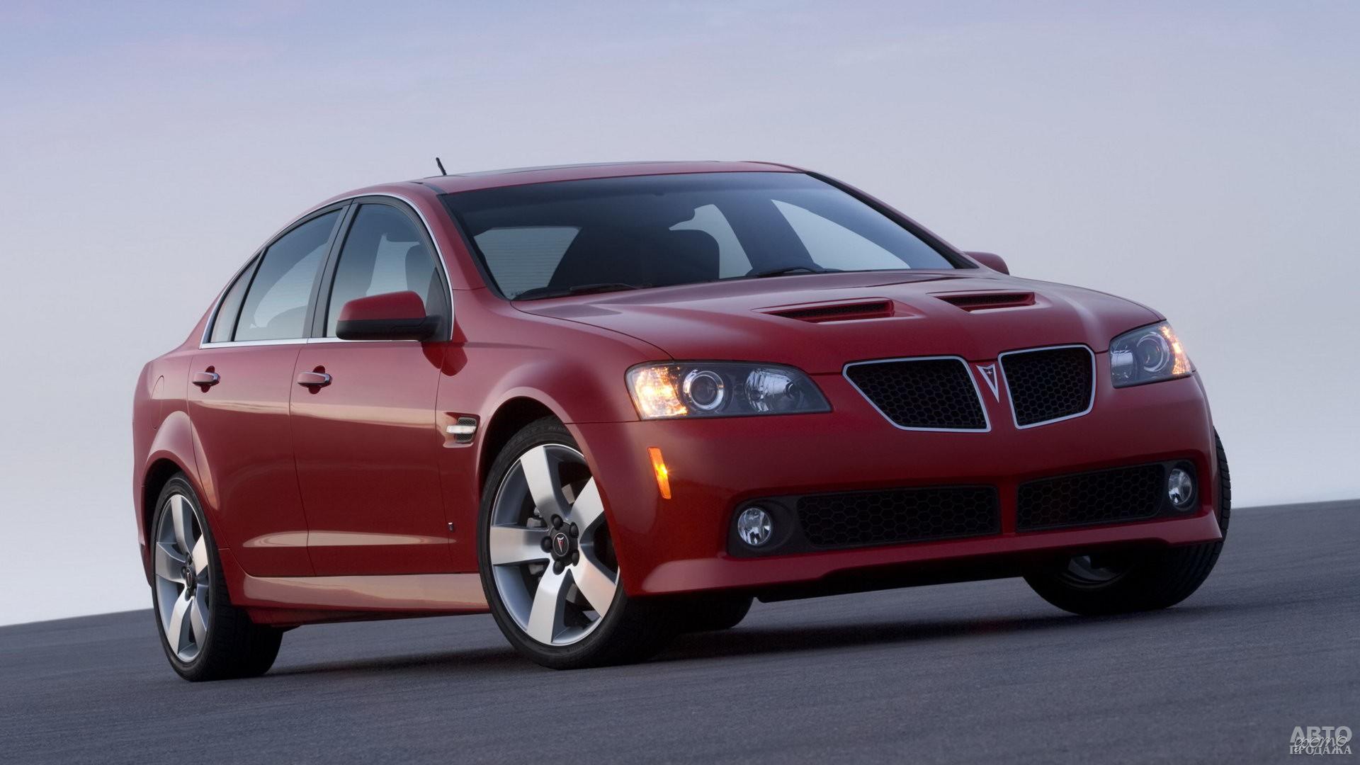 Pontiac G8 2007 года