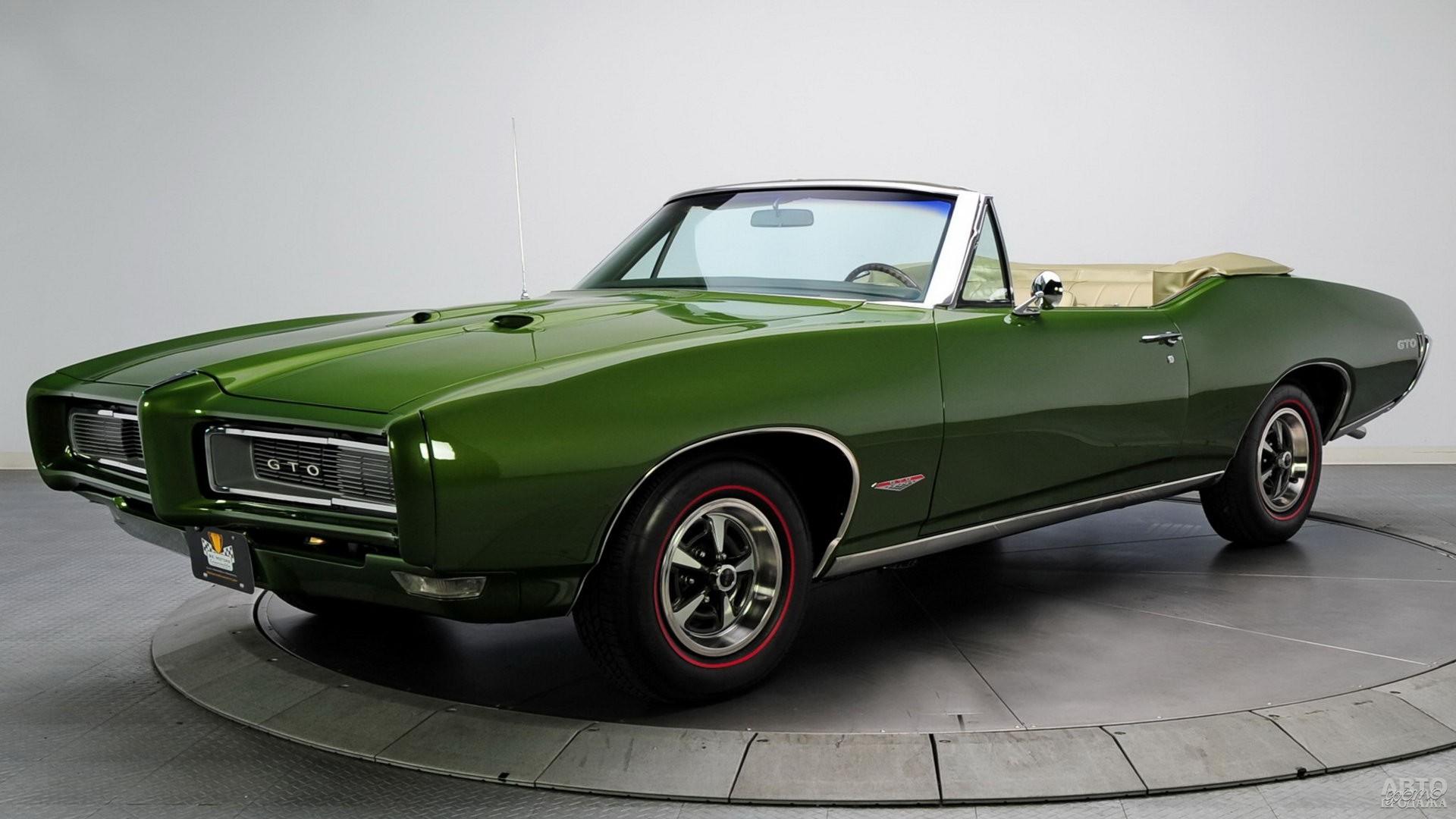Pontiac GTO 1968 года