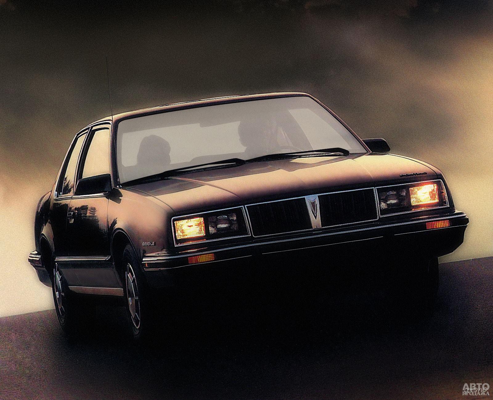 Pontiac 6000 1982 года
