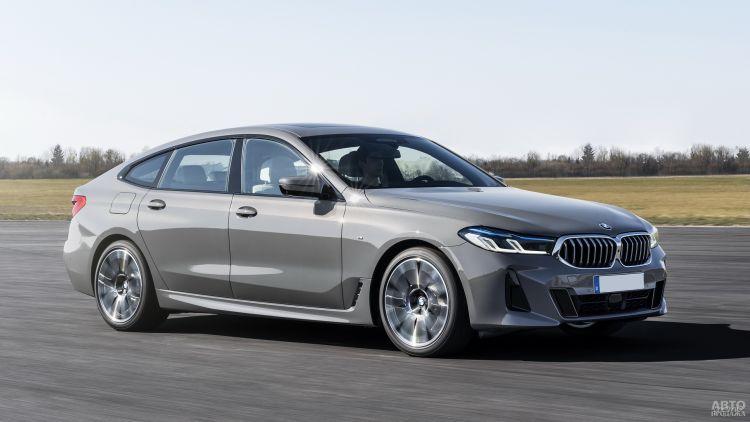 BMW 6 Series Gran Turismo: модернизация