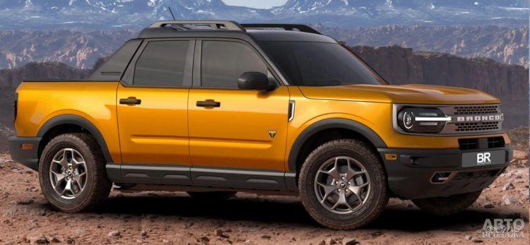 Ford представит компактный пикап