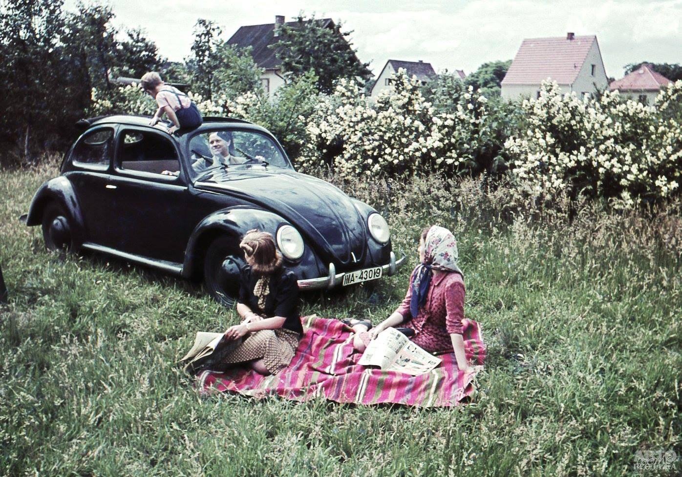 Первый Volkswagen 1938 года