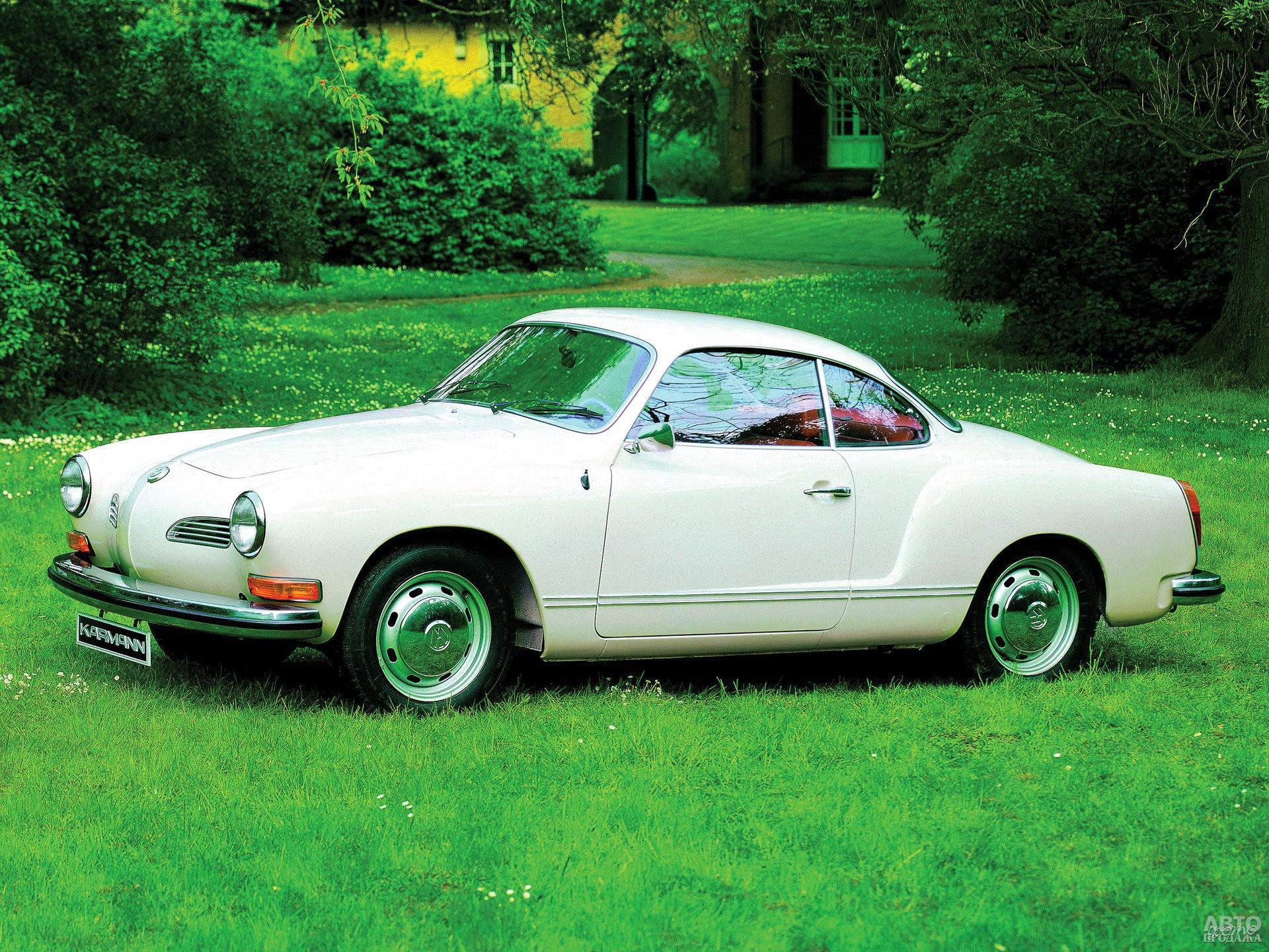 Купе Volkswagen Karmann-Ghia 1971 года