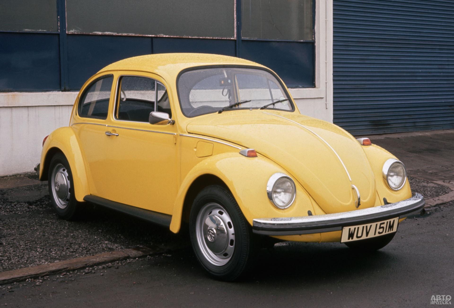 Vоlkswagen Beetle 1968 года