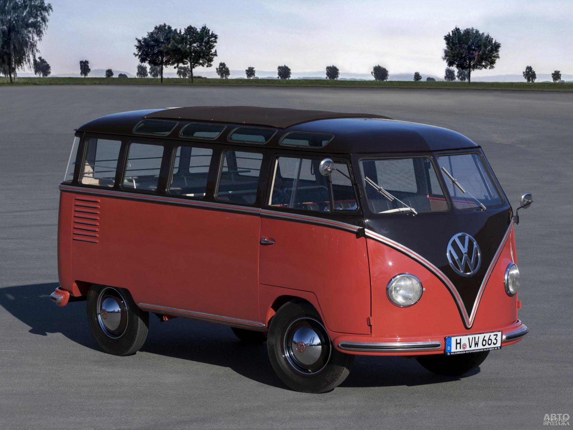 Volkswagen T1, 1951 год