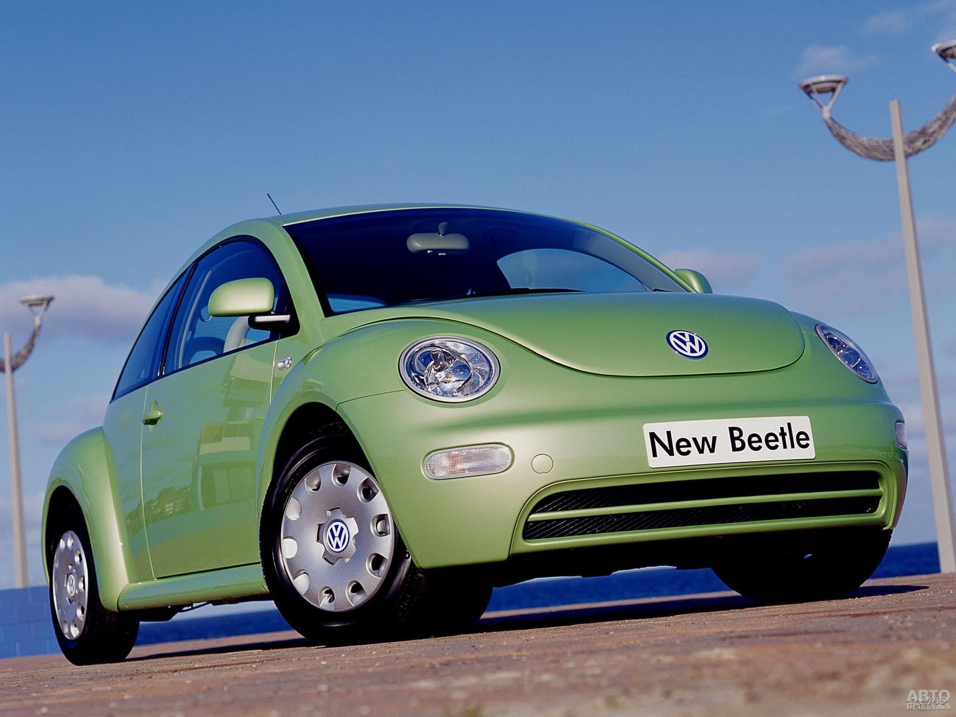 Volkswagen New Beetle 1997 года
