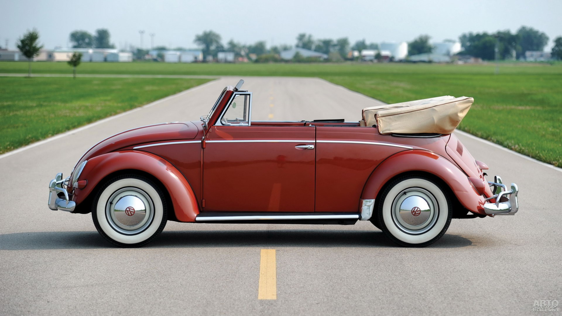 Кабриолет Vоlkswagen Beetle 1957 года