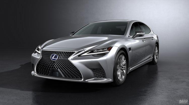Lexus LS: модернизация