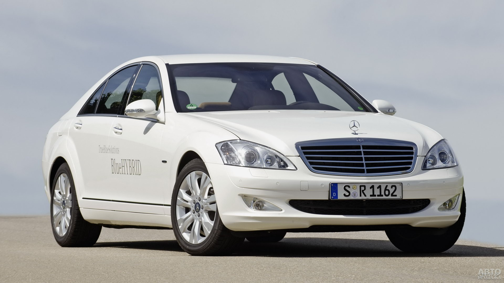 Mercedes-Benz S400 Blue Hybrid (W221), 2008 год