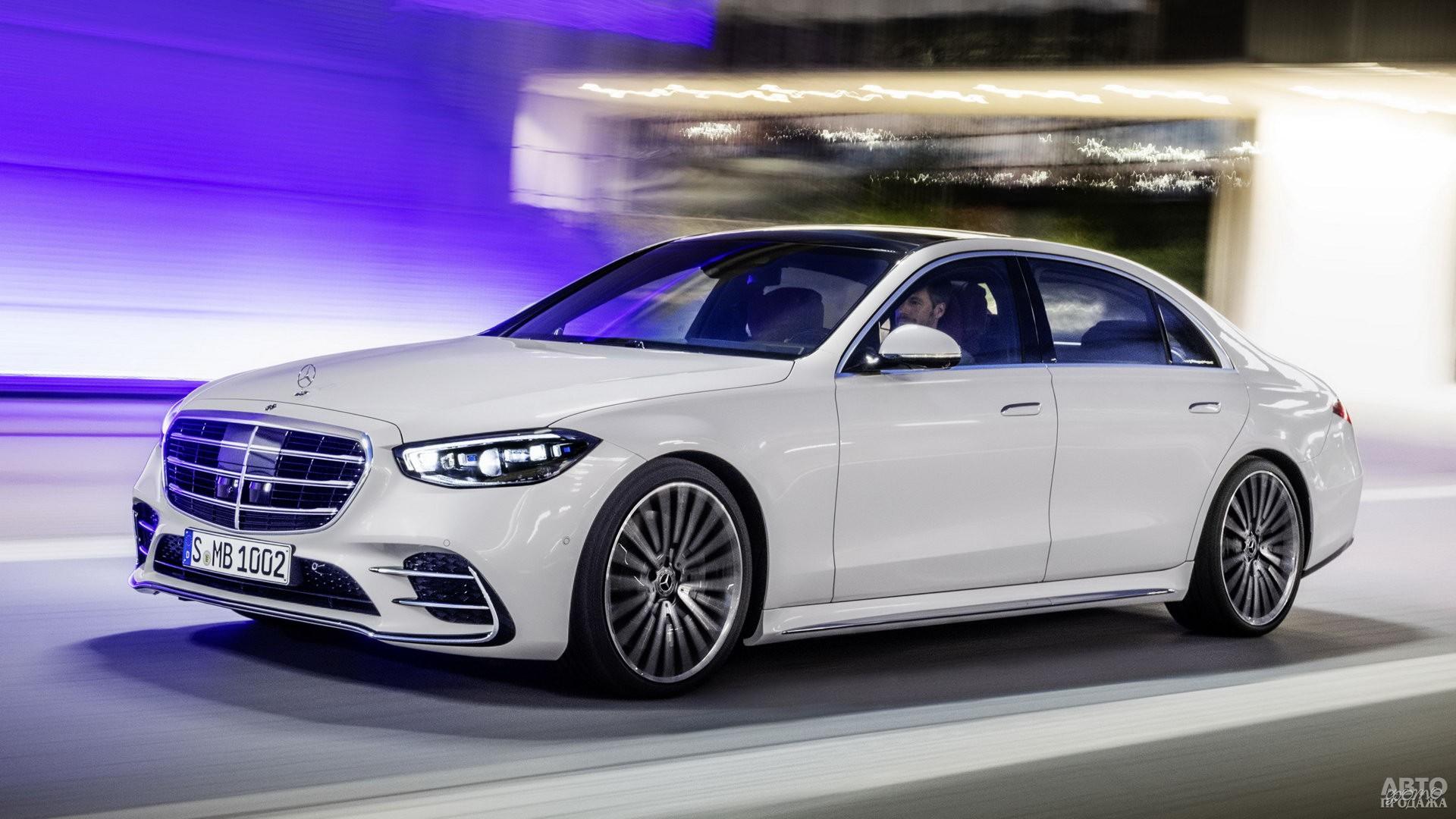 Новый Mercedes-Benz S-Class W223 2020 года