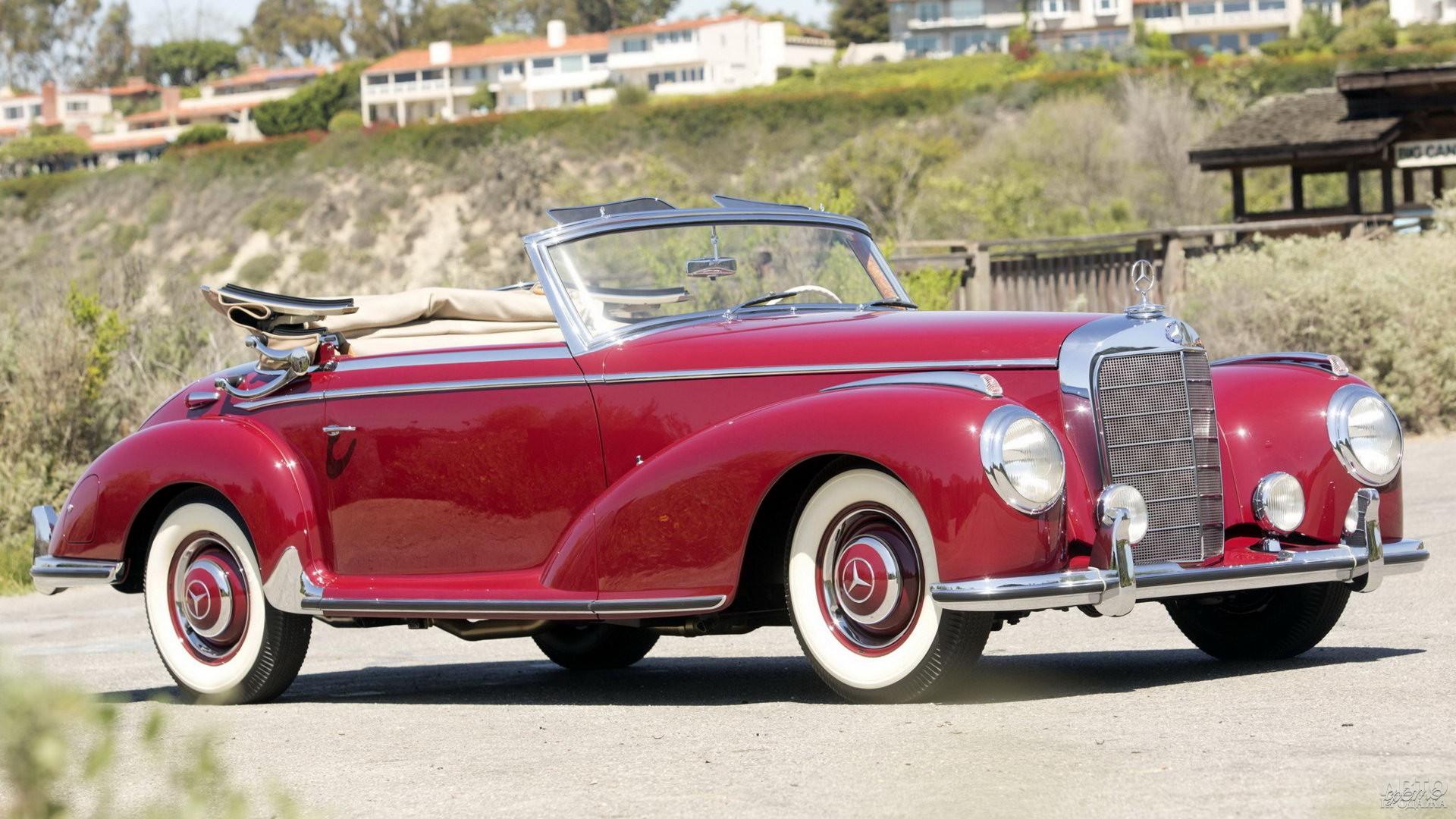 Mеrcedes-Benz 300 S Cabriolet 1951 года