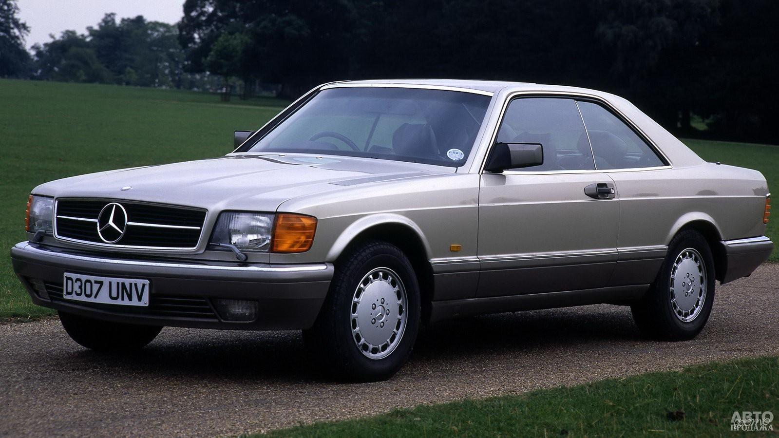 Купе Mercedes-Benz 560 SEC 1985 года