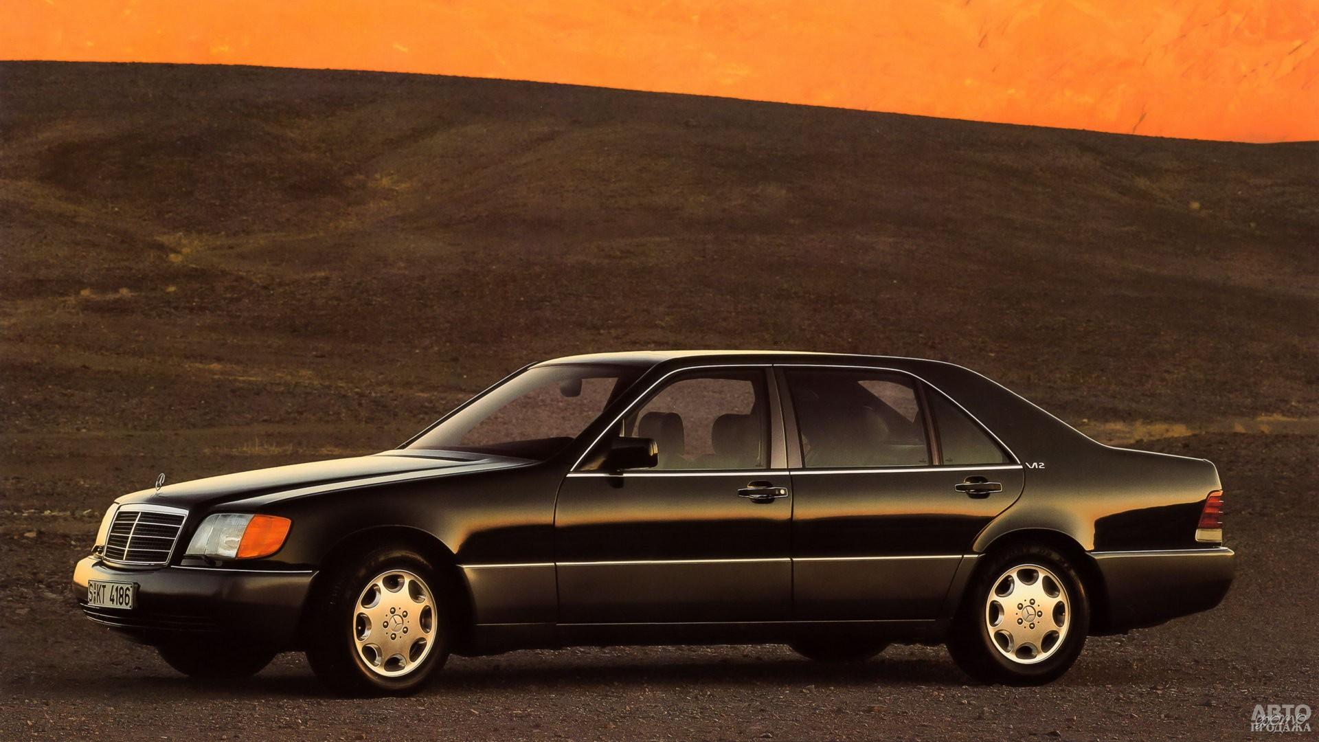 Mercedes-Benz SEL 600 1991 года – вершина модельного ряда W140