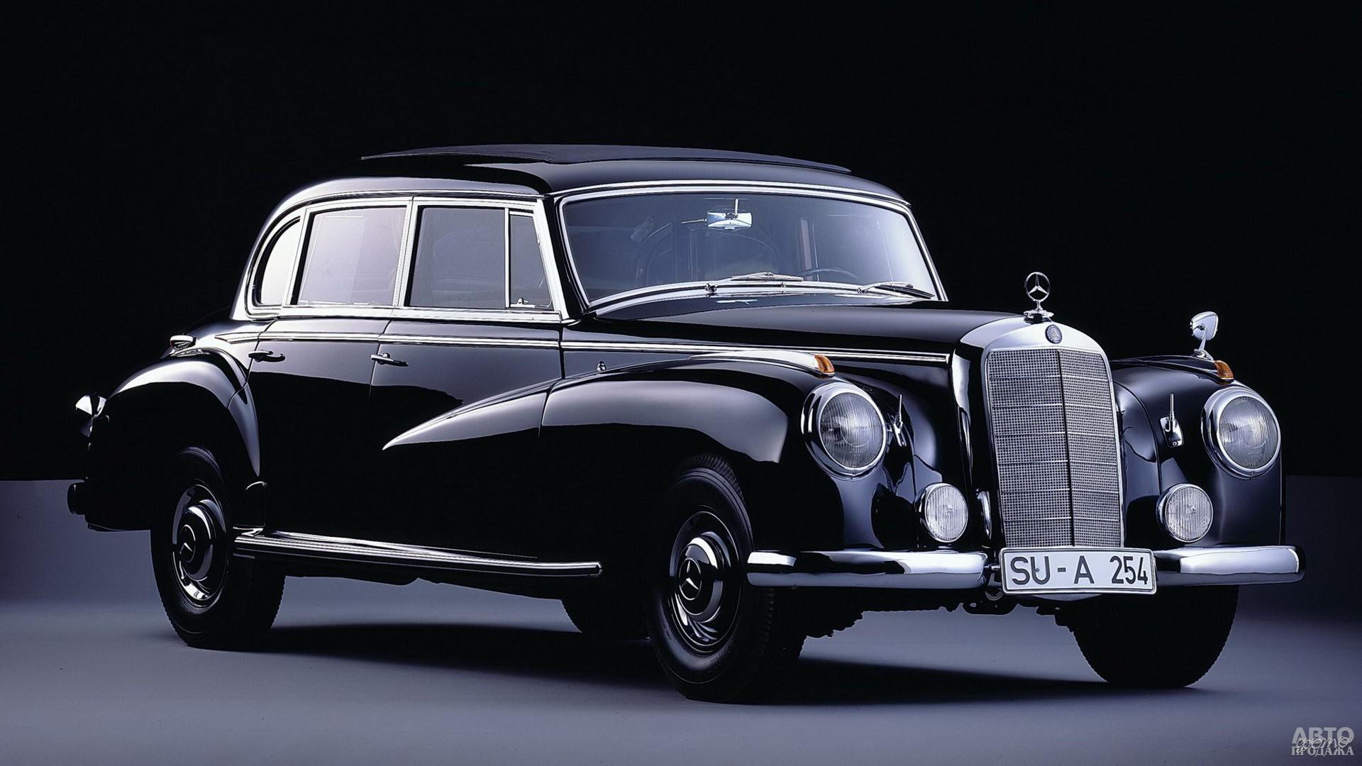Этот Mеrcedes-Benz 300 1951 года обслуживал канцлера ФРГ Конрада Аденауэра
