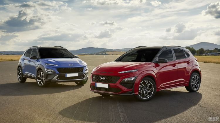Hyundai Kona: модернизация