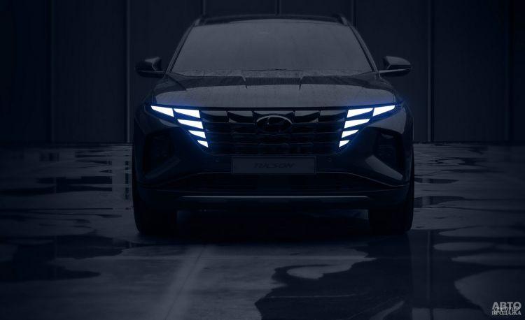 Новый Hyundai Tucson показался на официальных фото
