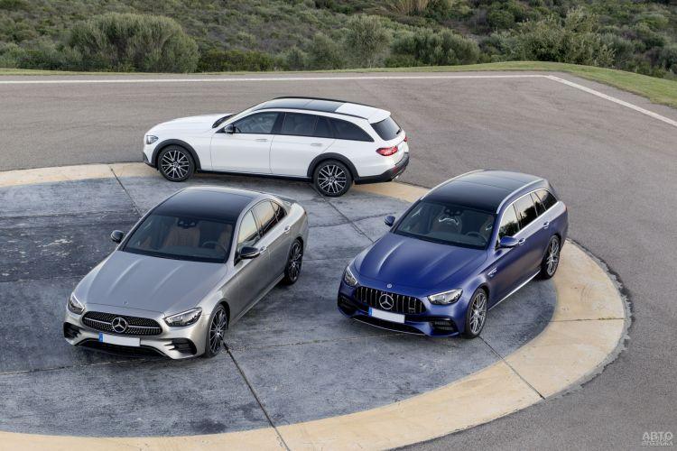 Mercedes-Benz E-Class: элегантнее и экономичнее