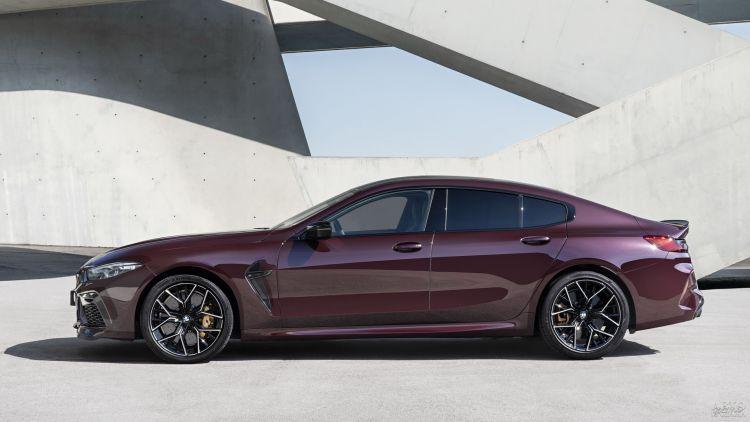 BMW M8 Gran Coupe: быстрый и практичный
