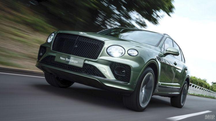 Bentley Bentayga: вседорожная роскошь