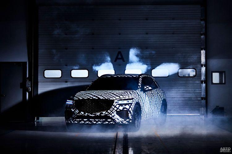 Первые фото роскошного вседорожника от Hyundai
