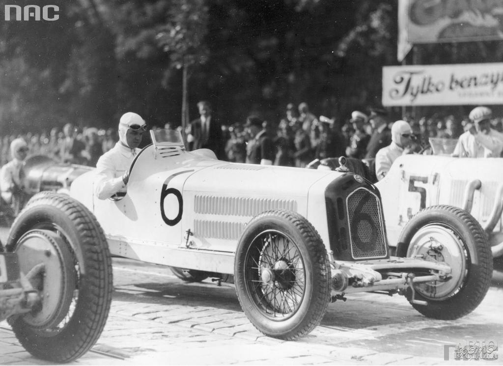 Рудольф Караччиола  в Гран-при Львова 1932 года