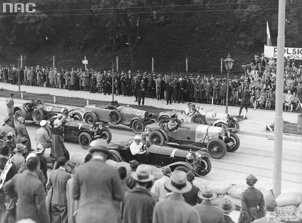 Старт Гран-при Львова-1933 года