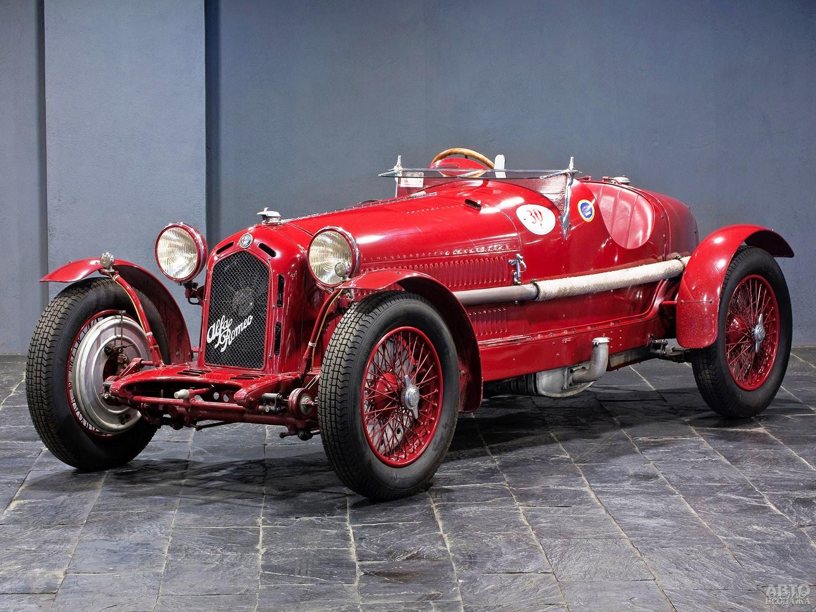 Alfa-Romeo 8C 2300 Monza 1930 года