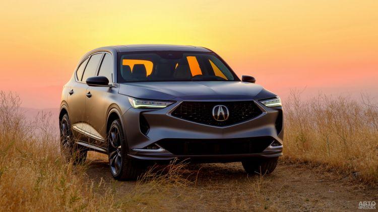Acura MDX Prototype: почти серийный