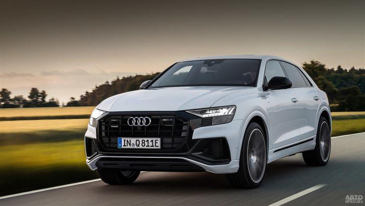 Audi Q8 стал заряжаемым гибридом